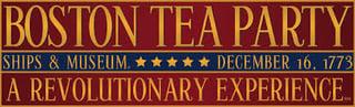 Boston Tea Party Ships & Museum Logo