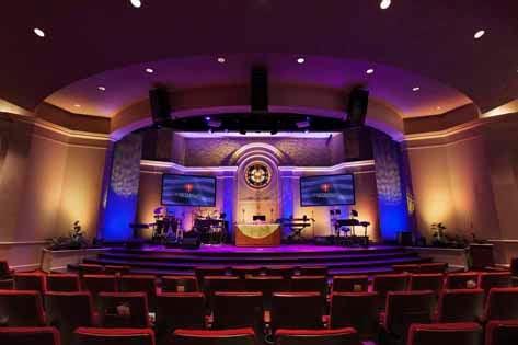 Church Lighting & Video System