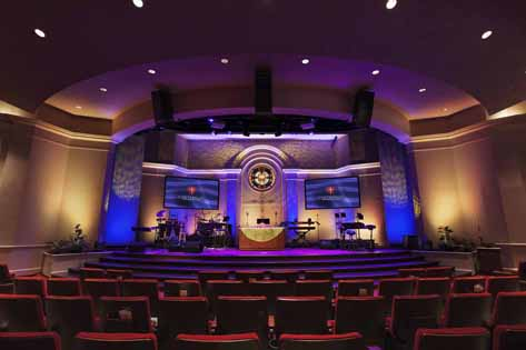 Church Lighting & Video System