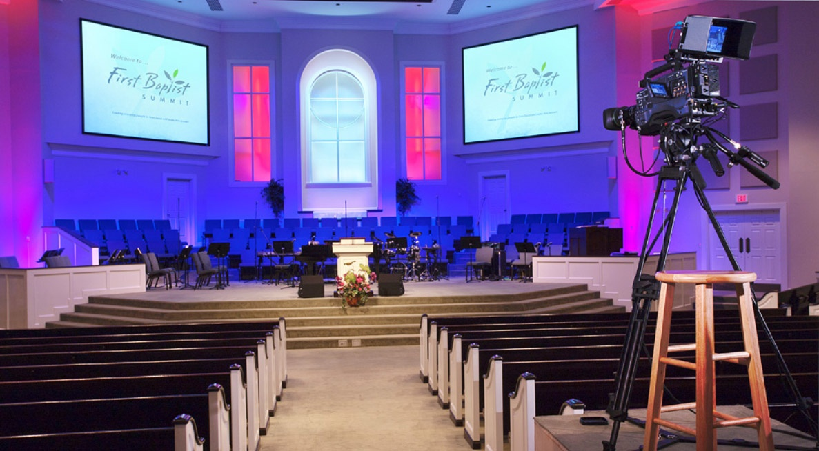 Church Broadcast System Design and Installation