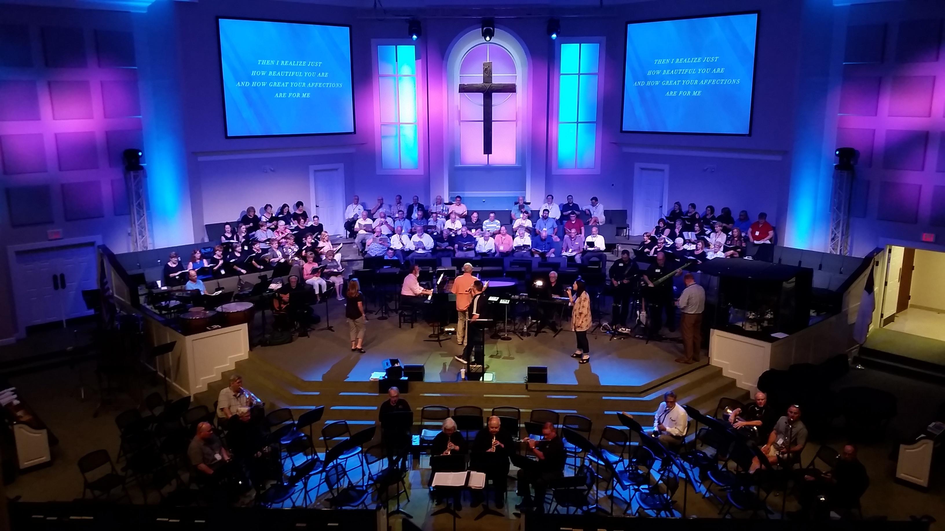 FBC Summit Church AVL System Upgrade