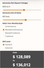 Church Sound System Cost Calculator