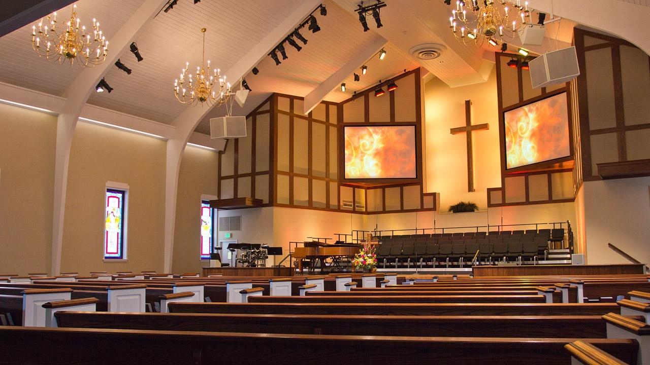 Trinity Baptist Church Visual System Upgrade