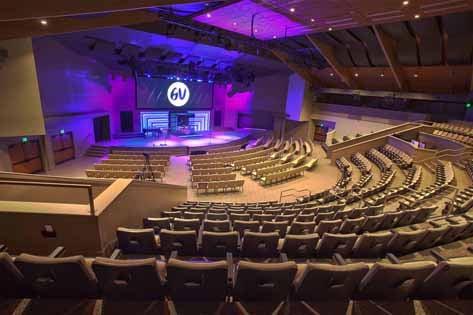 Contemporary Church Sound System