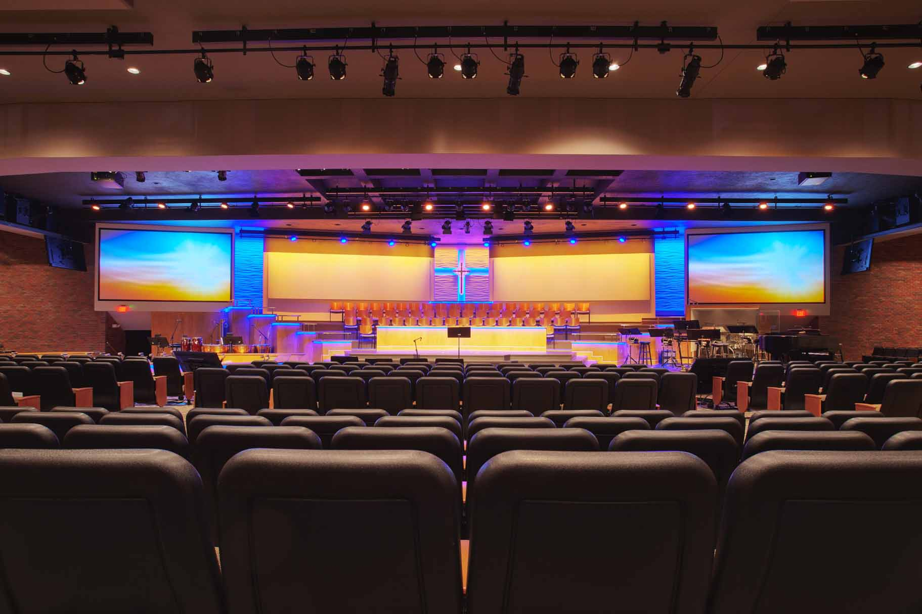 Church Stage Design and Installation