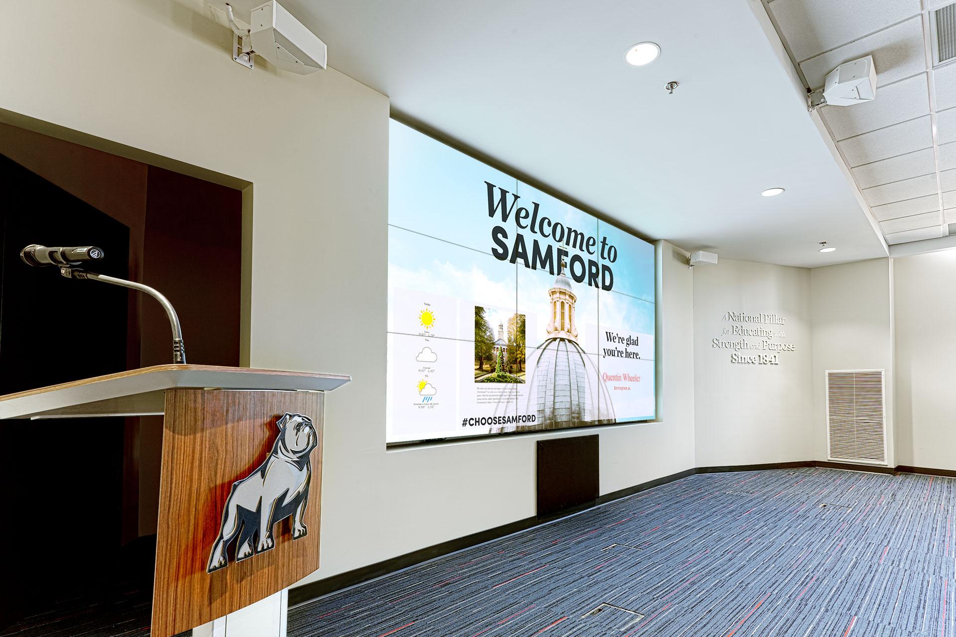 Samford Presentation Room